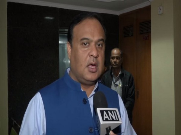 NEDA convener Himanta Biswa Sarma speaking to ANI on Tuesday. Photo/ANI