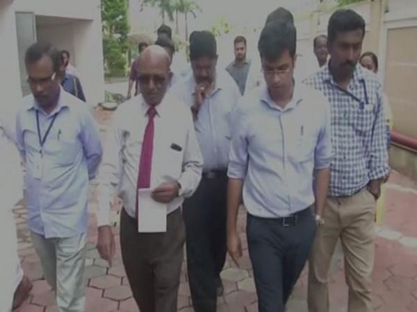 Demolition expert Sharath B Sarwate visited Maradu flat in Ernakulum on Friday