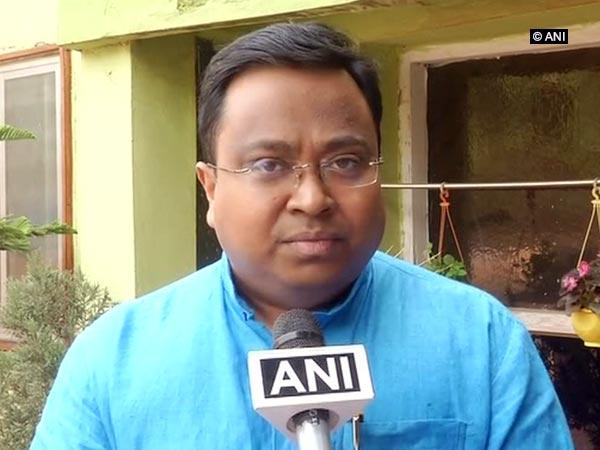 BJD spokesperson Sasmit Patra