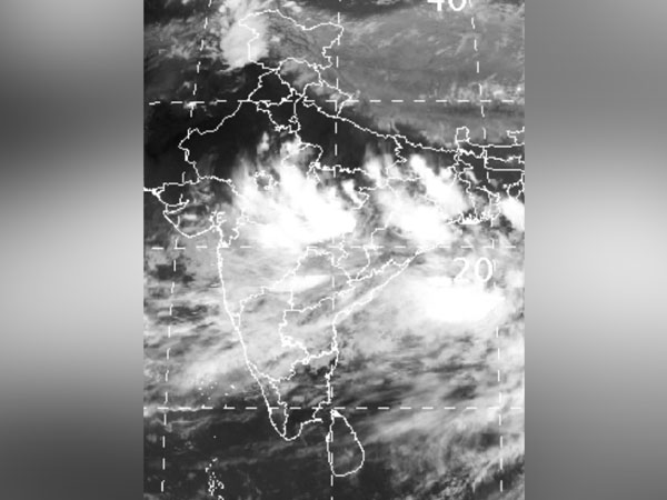 Satellite images. Photo/IMD Mumbai