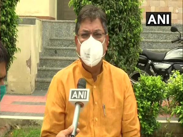 Rajasthan BJP president Satish Poonia speaking to ANI.