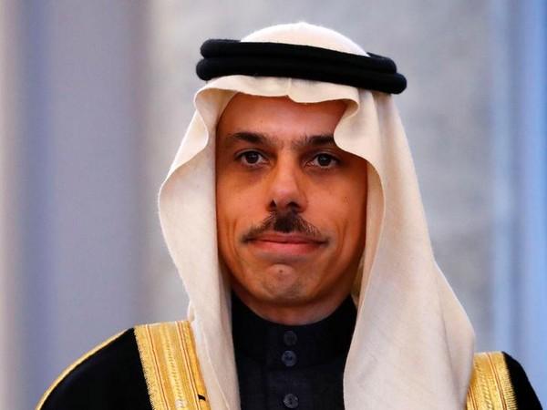 Saudi Foreign Minister Prince Faisal bin Farhan Al-Saud