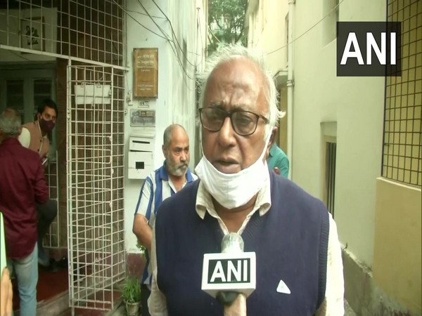 Trinamool Congress MP Sougata Roy speaking to ANI in Kolkata on Wednesday. (Photo/ANI)