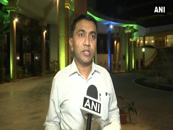 Goa Chief Minister Pramod Sawant. (Photo/ANI)