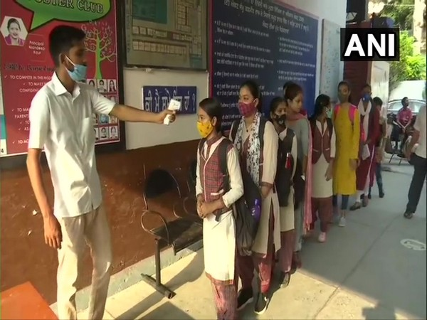 Visual from Government Girls Senior Secondary School in Amritsar (Photo/ANI)