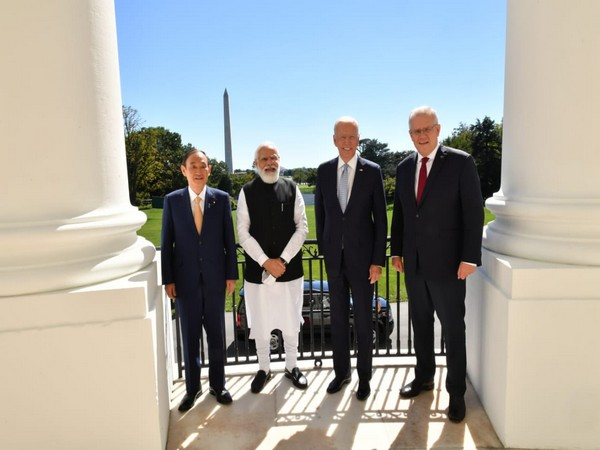 Heads of state of Quad member countries.