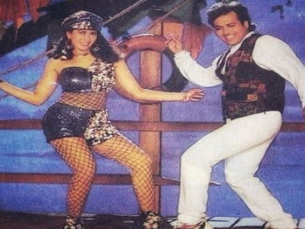 Karisma Kapoor and Govinda in a still from the song 'Husn Hai Suhana' (Image Source: Instagram)