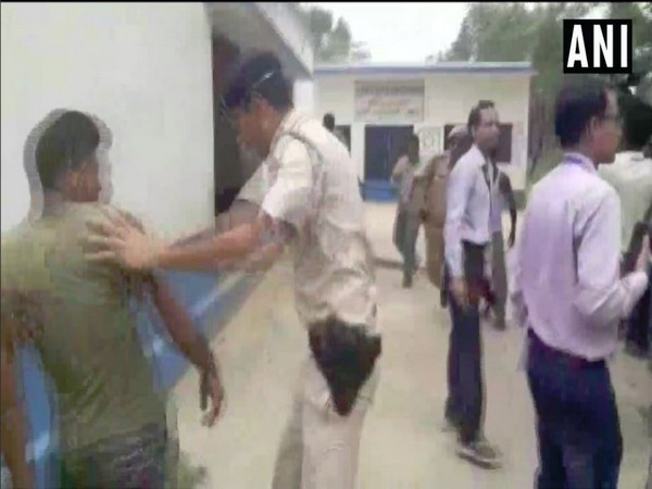 Visual of the scuffle that broke out at a primary school in Abdullahpur