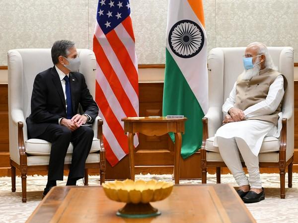 Prime Minister Narendra Modi met  US Secretary of State Antony Blinken (Photo Credit: Twitter)