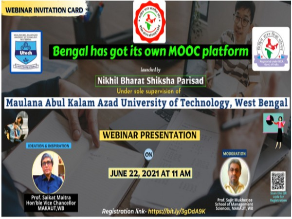 Bengal becomes first state to launch its own MOOCS platform under MAKAUT