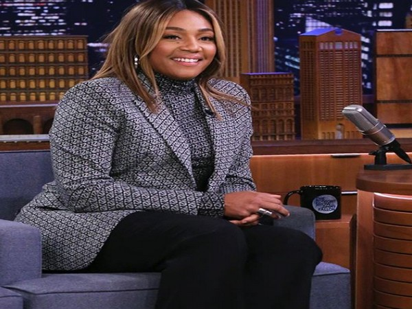 Tiffany Haddish at  'The Tonight Show with Jimmy Fallon.' (Picture Courtesy: Instagram)