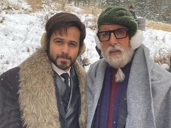 Emraan Hashmi and Amitabh Bachchan (Image courtesy: Instagram)