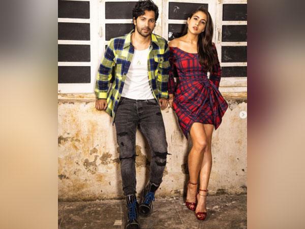 Actors Varun Dhawan and Sara Ali Khan (Image Source: Instagram)