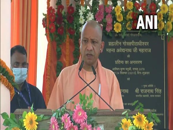 Uttar Pradesh Chief Minister Yogi Adityanath (Photo/ANI)