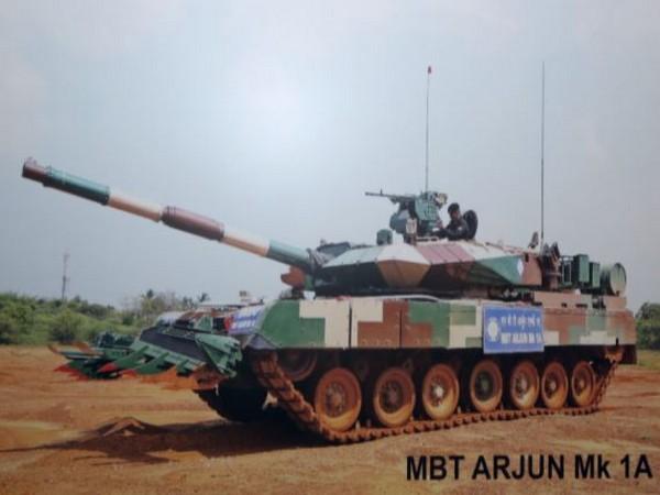 Visuals of Main Battle Tanks Arjun Mk-1A.