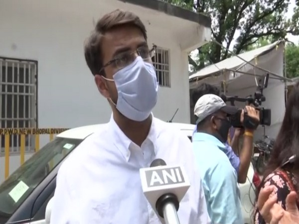 A member of junior resident doctors' delegation speaking to ANI on Monday (ANI).