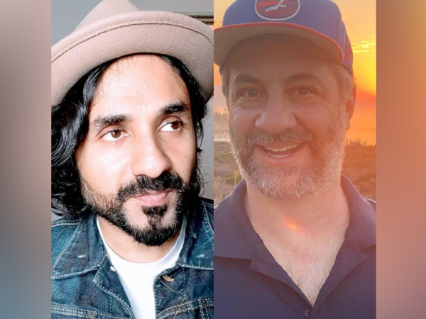Vir Das and Judd Apatow (Image Source: Instagram)