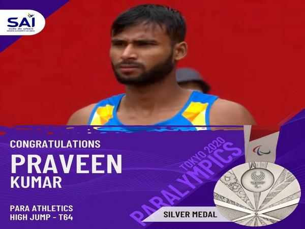 Indian athlete Praveen Kumar (Photo/Twitter/SAI)
