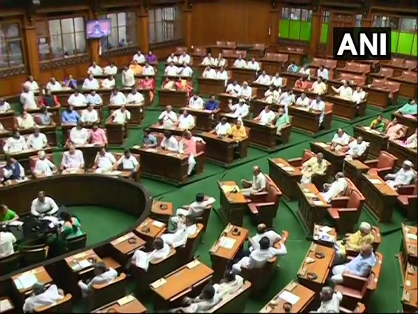 A visual from the Karnataka Assembly. (Photo/ANI)