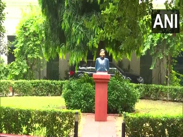Bust of former Union Minister Ram Vilas Paswan in Delhi (Photo/ANI)