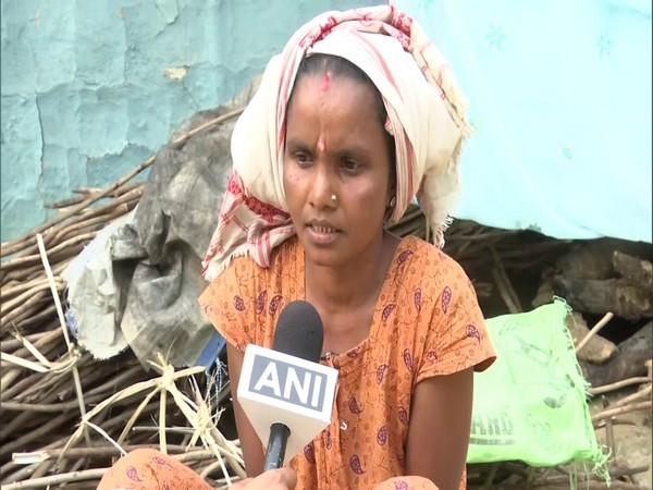 Seema, a tea worker from Jorhat, speaking to ANI