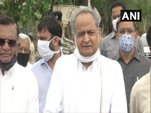 Rajasthan Chief Minister Ashok Gehlot (file photo)
