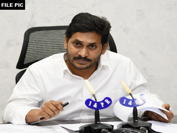 Andhra Pradesh Chief Minister YS Jaganmohan Reddy (file pic/ANI).