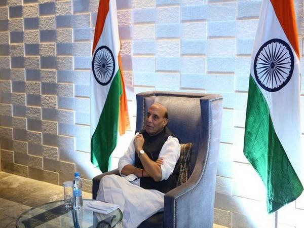 Defence Minister Rajnath Singh (Photo/ANI)