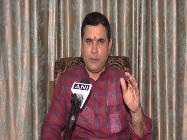 Nand Kishore Gurjar, BJP MLA from Loni Assembly constituency in Uttar Pradesh. (Photo/ANI)