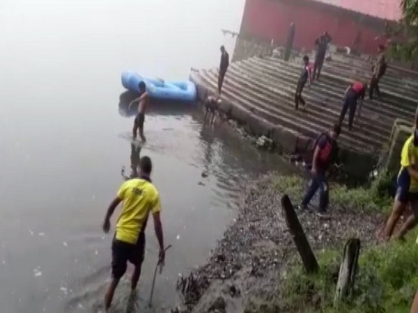 State Disaster Response Force (SDRF) conducted a cleanliness drive in the Nainital Lake on Monday.