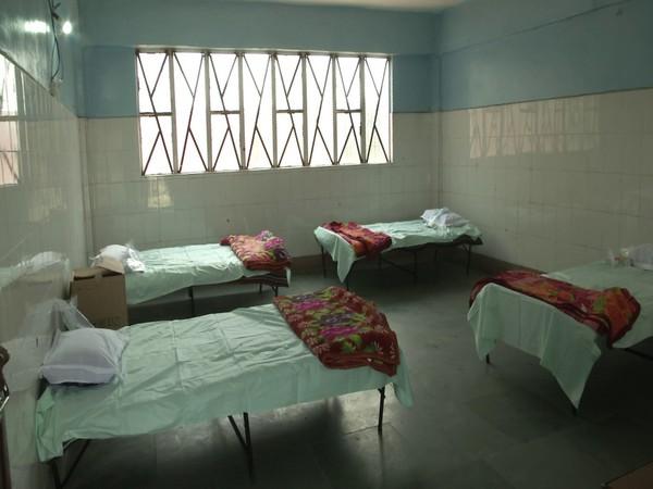 Five-bedded Covid Care Centre in Srinagar (Photo/ANI)