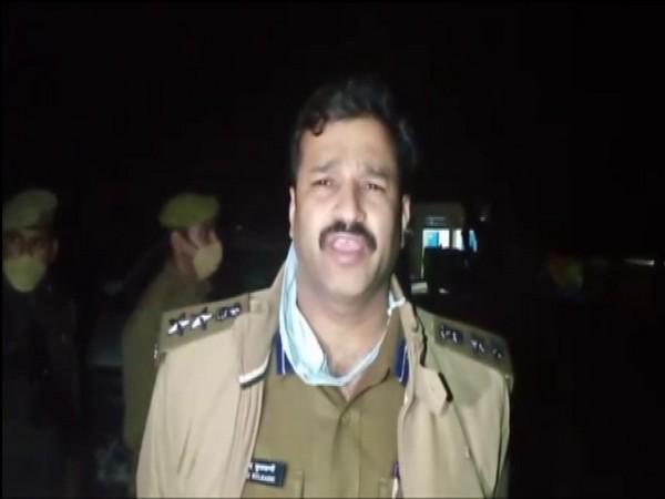 Anand Kulkarni, Superintendent of Police, Unnao (Photo/ANI)