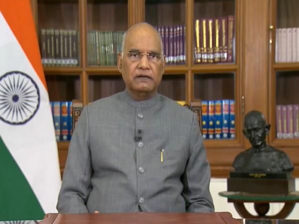 President Ram Nath Kovind (file pic/ANI).