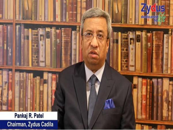 Zydus Cadila's chairperson Pankaj K Patel (photo/ANI)