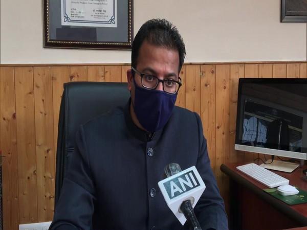 State Disaster Management Authority Director Sudesh Kumar Mokhta (Photo/ANI)