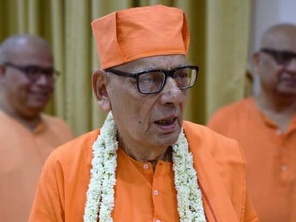 Visual of Swami Shivamayananda (Photo/Twitter)