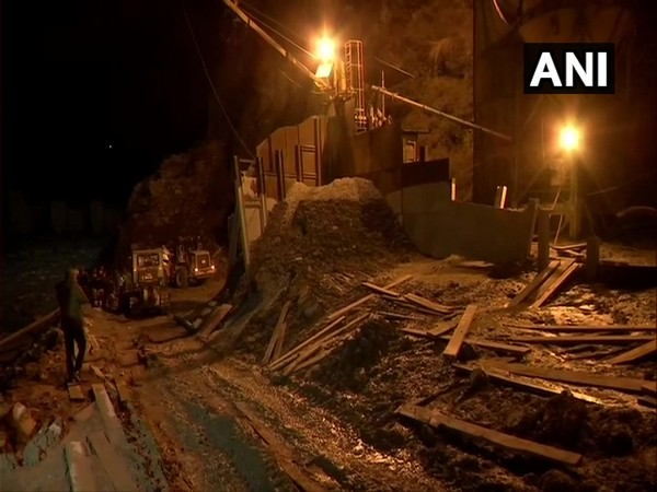 Search and rescue operation underway at Tapovan tunnel in Chamoli district.