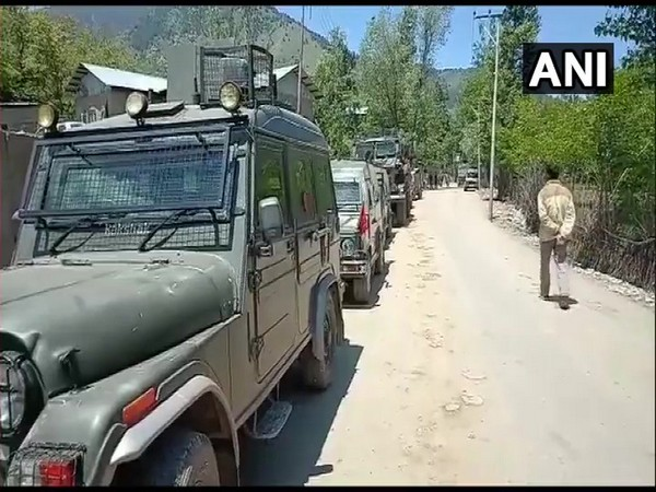 Encounter broke out between terrorist and security forces in Anantnag on Saturday