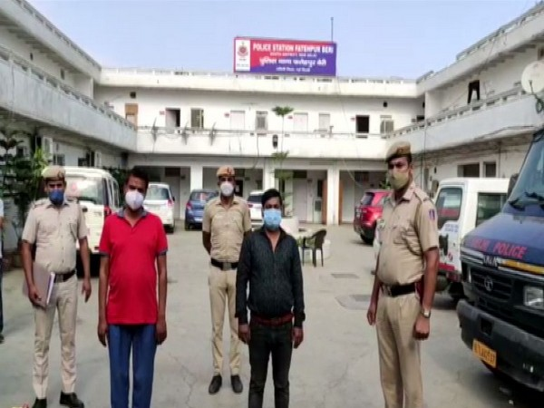 The accused in Remdesivir black marketing case - Vibhuti Kumar and Manoj Kumar (Photo/ANI)