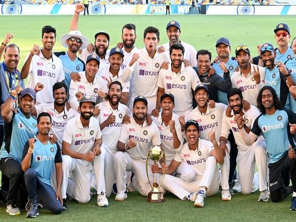 Team India (Photo/ Virender Sehwag Twitter)