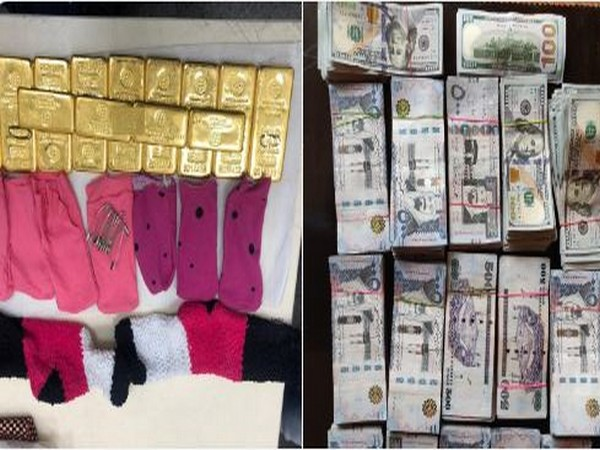 DRI seized 11.1 kg gold worth over Rs 3 crore and foreign currency over Rs 4 lakh from a woman passenger