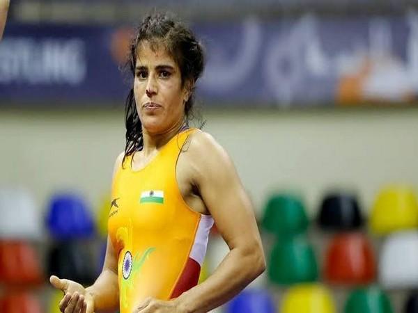 Indian wrestler Seema Bisla (Image: SAI)