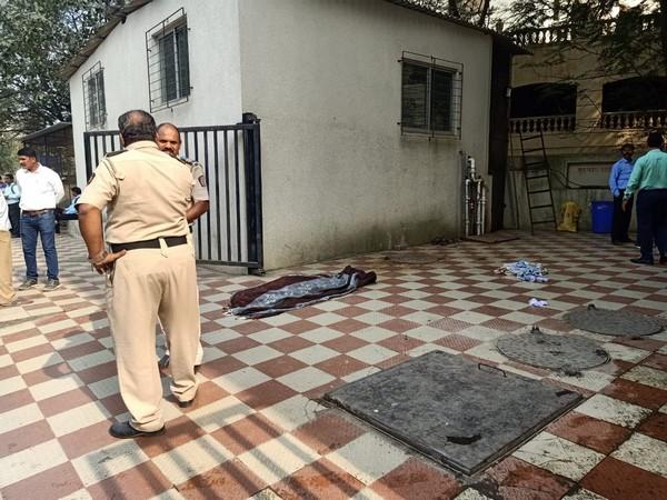 Visual from the spot in Mumbai. Photo/ANI