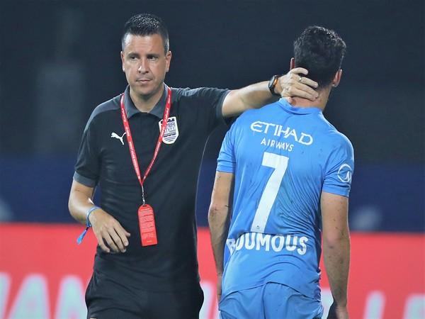 Mumbai City head coach Sergio Lobera