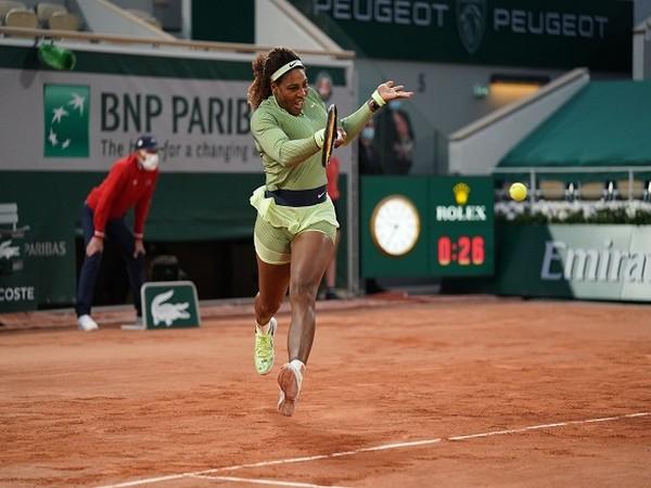 American tennis player Serena Williams (Photo/ Roland Garros Twitter)
