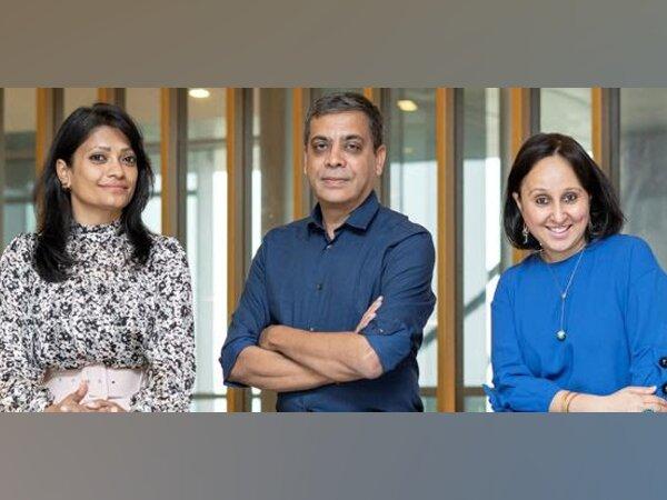 The People Network Founding Team - Anupama Jaiswal, Natwar Nagar, and Ambika Mehta Gautam