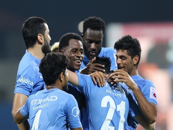 MCFC players celebrate their thrashing win over Odisha (Image: ISL)