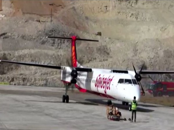 Airline operations resumed at Sikkim's only airport at Pakyong near Gangtok on Saturday.