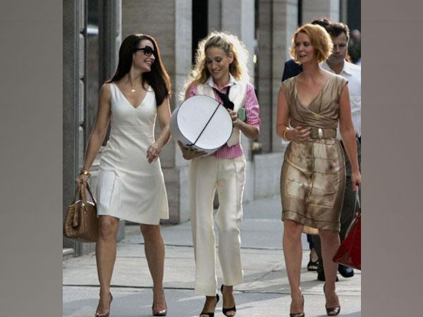 'Sex and the City' actors Kristin Davis, Sarah Jessica Parker and Cynthia Nixon (Image source: Instagram)