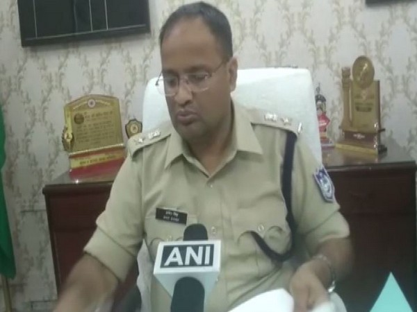 Amit Singh Superintendent of Police, Jabalpur spoke to ANI on Thursday. Photo/ANI